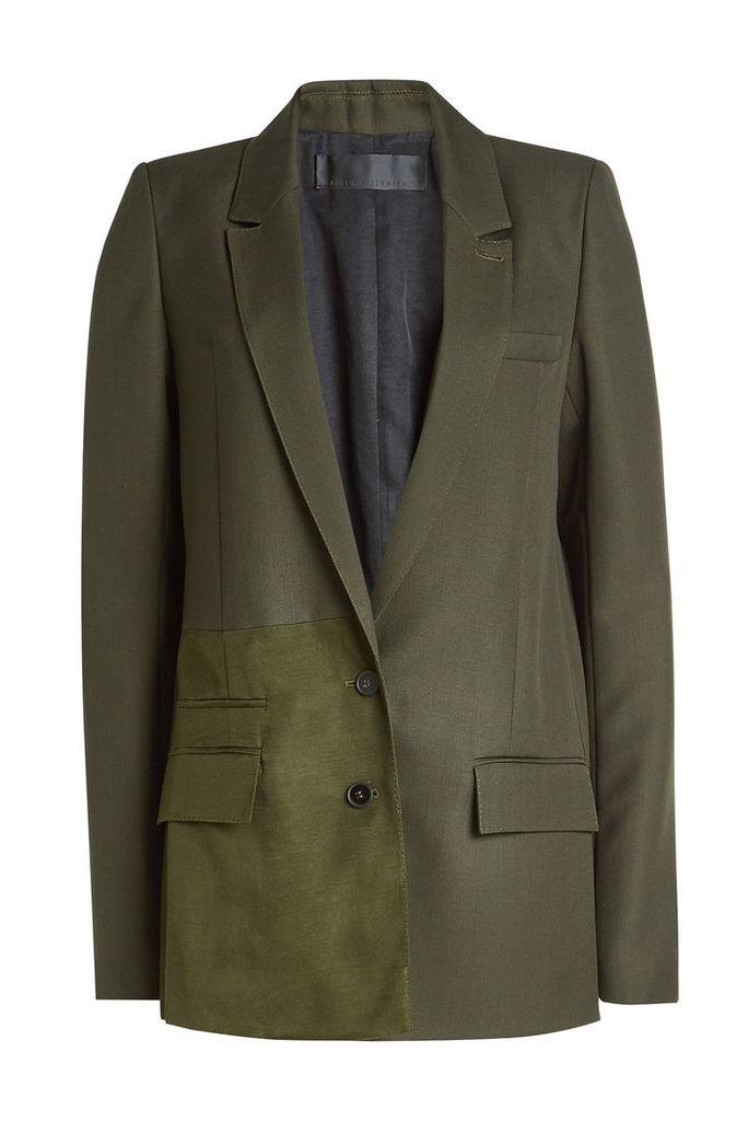 Haider Ackermann Fleece Wool Blazer