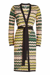 M Missoni Belted Cardigan with Cotton
