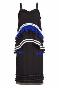 Proenza Schouler Anniversary Collection Ruffled Silk Chiffon Camisole Dress