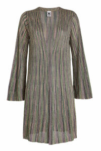 M Missoni Knit Cardigan with Metallic Thread