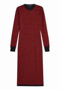 Marc Jacobs Merino Wool Midi Dress