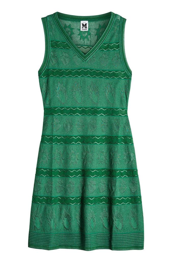 M Missoni Fit and Flare Knit Dress