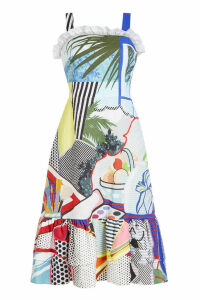 Mary Katrantzou Kara Printed Dress