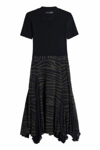 Proenza Schouler Dress with Printed Silk Chiffon Skirt