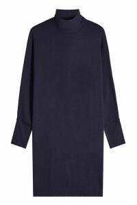 Majestic Knit Turtleneck Dress