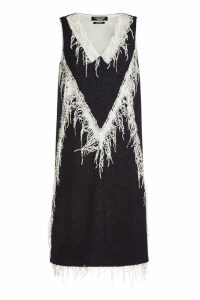 CALVIN KLEIN 205W39NYC Dress with Virgin Wool and Mohair
