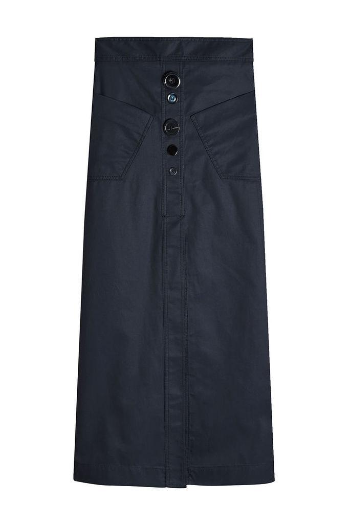 Ellery Aggie A-Line Skirt