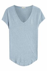 American Vintage V-Neck Linen T-Shirt