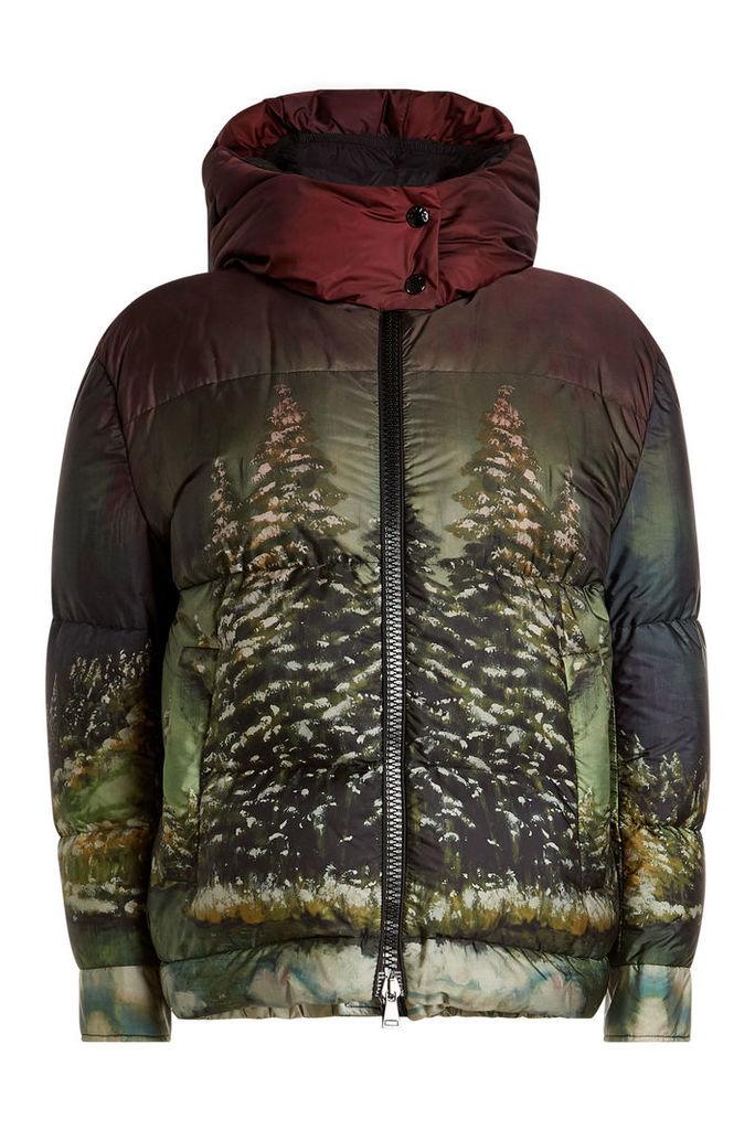 Moncler Effraie Printed Down Jacket