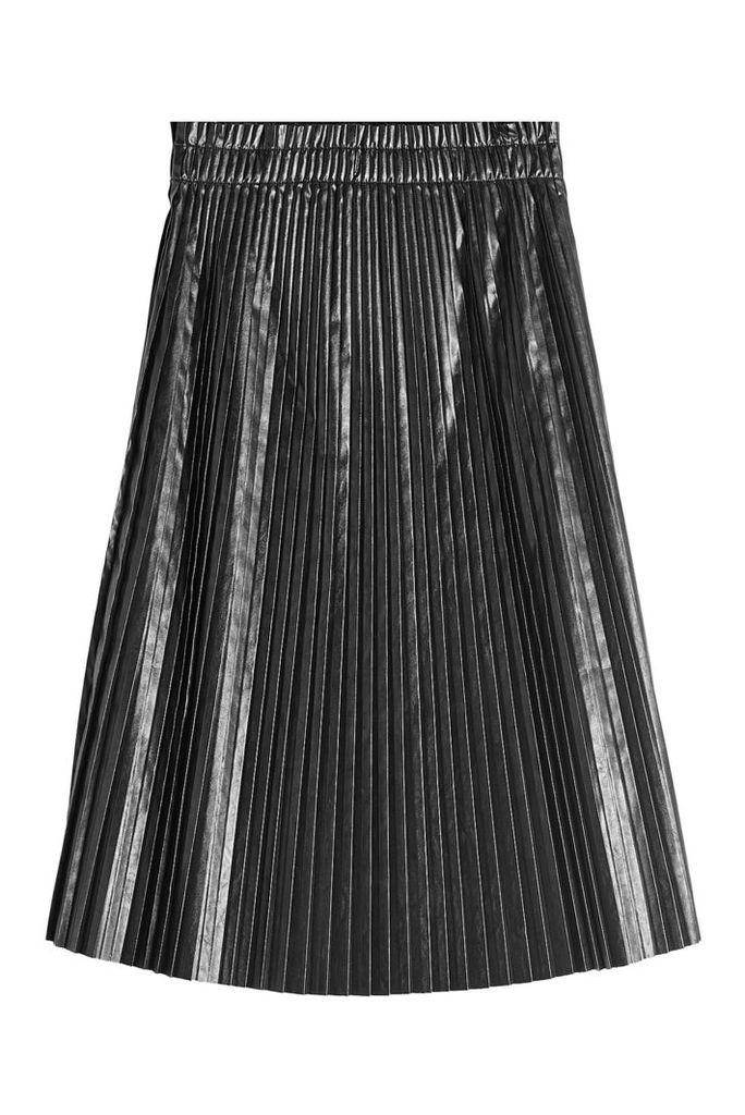 we11done Accordion Patent Skirt