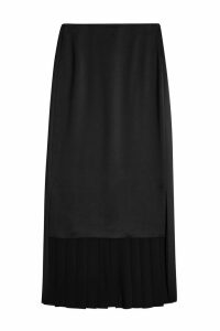 Maison Margiela High-Low Skirt with Pleats