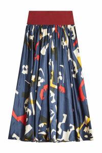 Roksanda Jeira Printed Silk Skirt