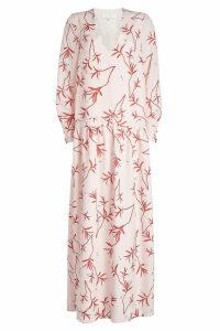 Borgo de Nor Anya Printed Maxi Dress