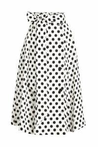 Lisa Marie Fernandez Diana Printed Linen Skirt