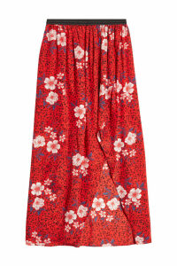 Zadig & Voltaire Josia Printed Silk Skirt