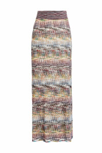 Missoni Maxi Skirt with Mohair and Alpaca