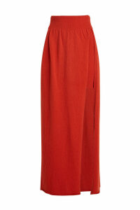 Jacquemus Peron Wool Skirt with Cashmere