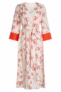 Borgo de Nor Lorena Printed Midi Dress