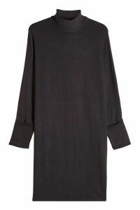 Majestic Jersey Turtleneck Dress