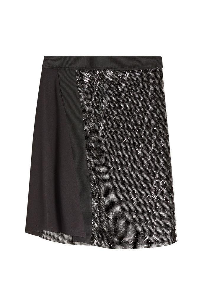 Paco Rabanne Skirt with Aluminium Mesh