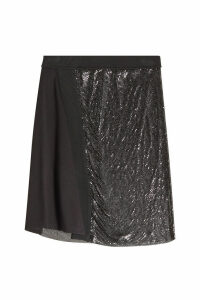 Paco Rabanne Skirt with Aluminium Mesh