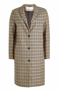 Closed Start Checked Blazer