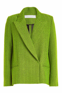 Victoria Victoria Beckham Cropped Wool Coat