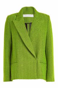 Victoria Victoria Beckham Cropped Wool Coat