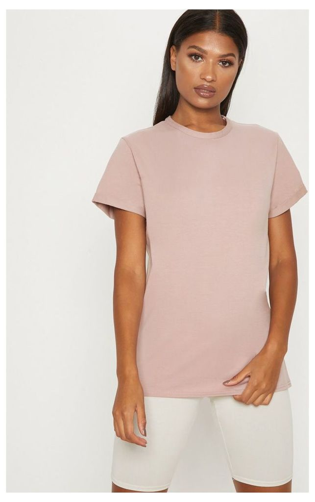 Dusty Pink Boyfriend T Shirt, Dusty Pink