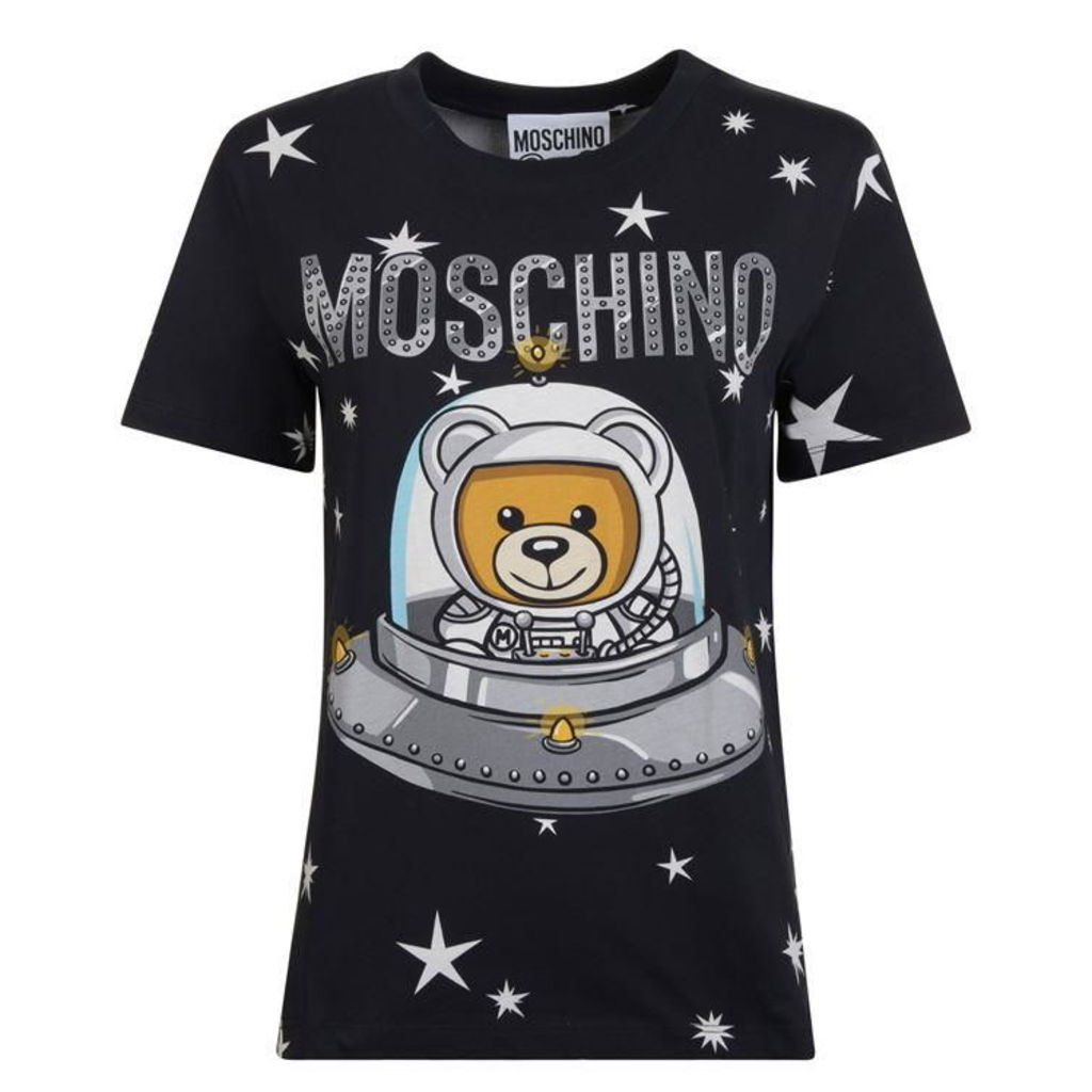 MOSCHINO Ufo Teddy T Shirt