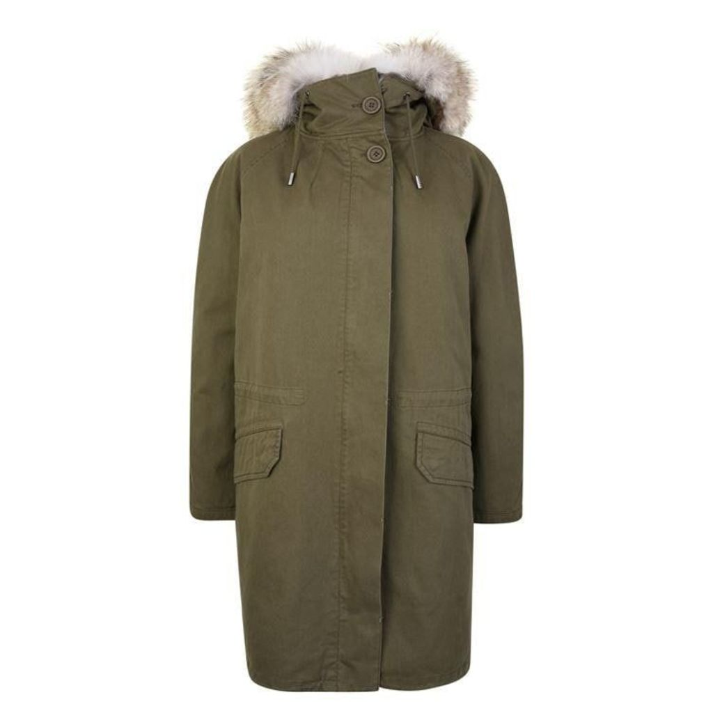 YVES SALOMON Classic Parka Jacket