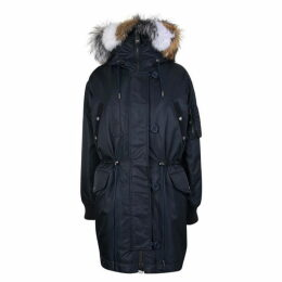 YVES SALOMON Oversized Fur Lined Parka Jacket
