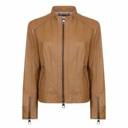 Boss Biker Lambskin Nappa Leather Jacket
