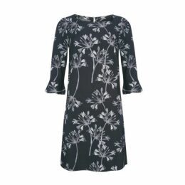 Allium Floral Print Dress