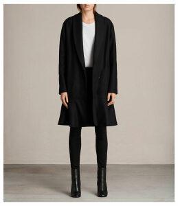 Grace Ruffle Coat