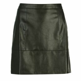 Rock and Rags PU Shine Skirt