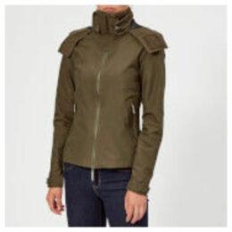 Superdry Women's Hooded Cliff Hiker Coat - Alpine Khaki/Black