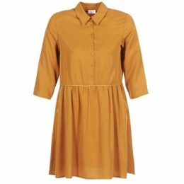 Vila  VILAVIDA  women's Dress in Brown