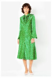 Womens Ghost London Green Printed Ayla Dress -  Green