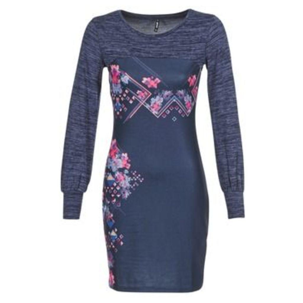 Smash  SUMBA  women's Dress in Blue