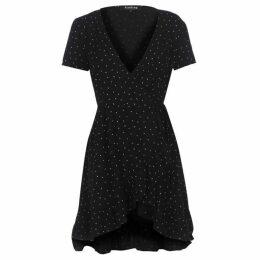 Firetrap Blackseal Wrap Dress