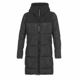 G-Star Raw  WHISTLER HDD QLT SLIM LONG COAT  women's Jacket in Black