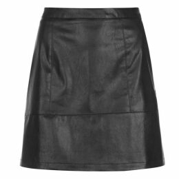 Rock and Rags PU Shine Skirt