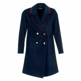 Morgan  GEO  women's Coat in Blue