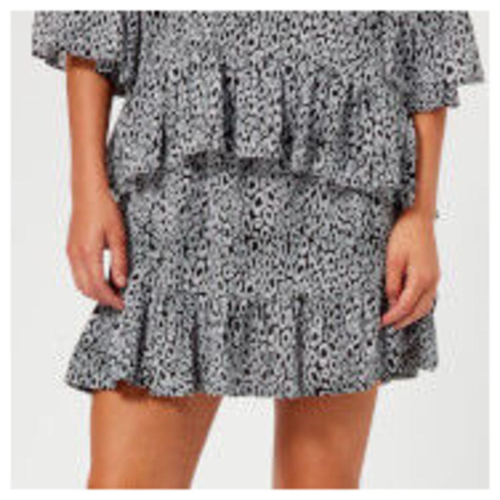 MICHAEL MICHAEL KORS Women's Wavy Leopard Skirt - Multi