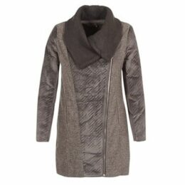 Smash  SIUMOU  women's Coat in Grey