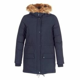 Schott  LUCIA  women's Parka in Blue