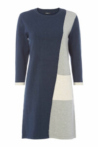 Colour Block Jumper Dress