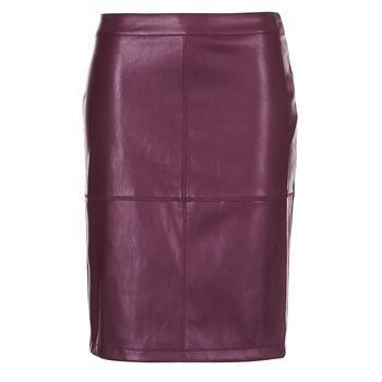 Vila  VIPEN  women's Skirt in Red