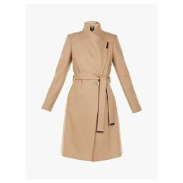 Ted Baker Sandra Wool Blend Wrap Coat
